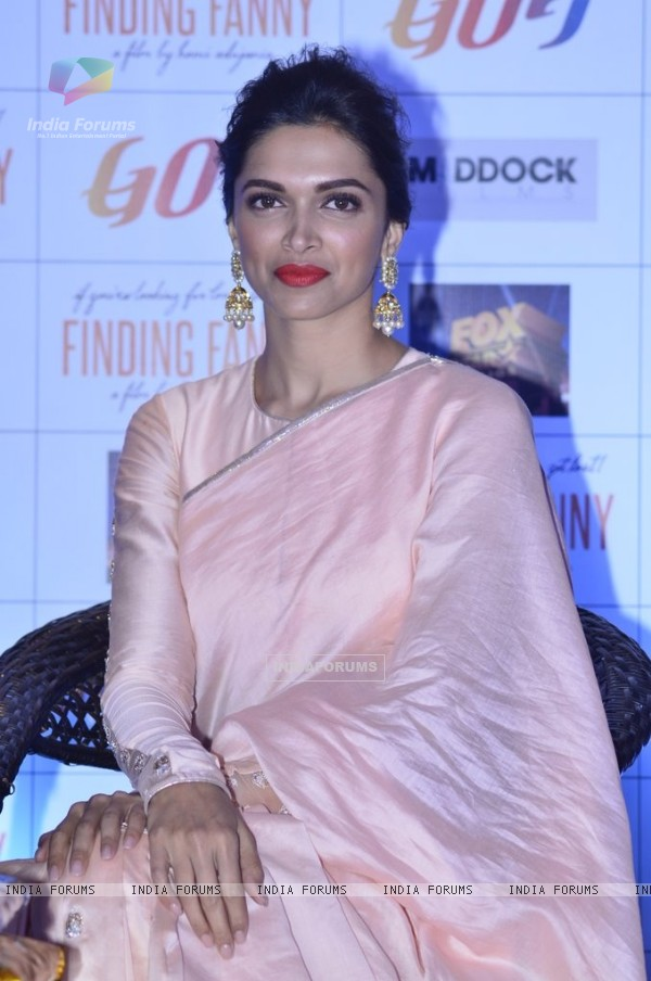 Deepika Padukone at the Finding Fanny Goa Tourism Event