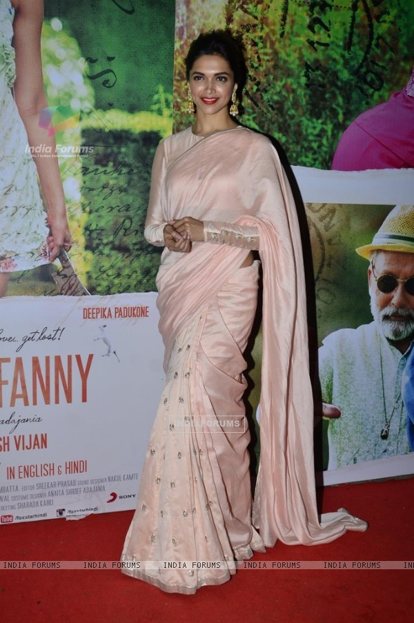 Deepika Padukone was at the Special Screening of Finding Fanny