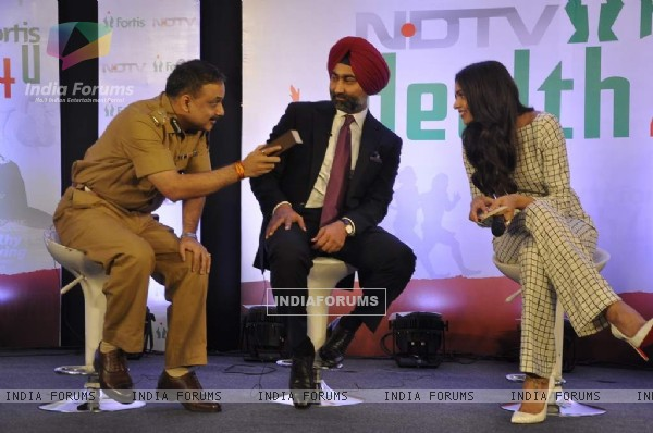 Deepika Padukone was at the Launch of NDTV and Fortis Health Care for You Campaign