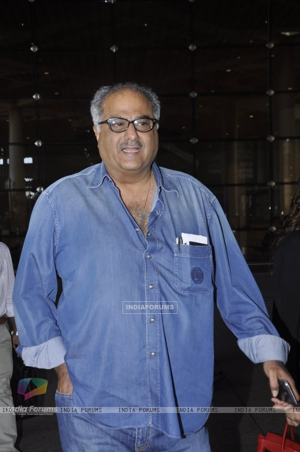 Boney Kapoor snapped at Airport