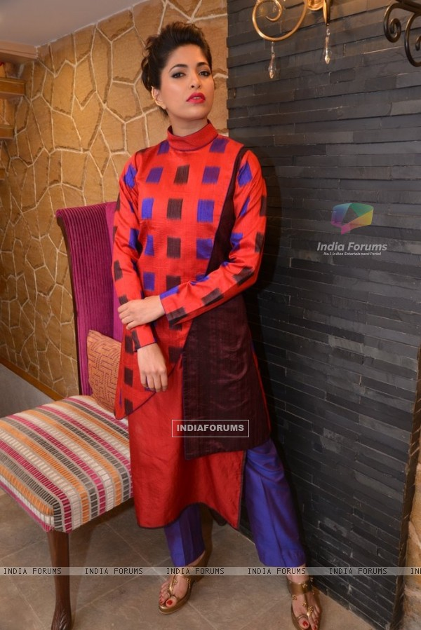 Parvathy Omanakuttan poses for the camera at an Exclusive Photo Shoot for Designer Shruti Sancheti