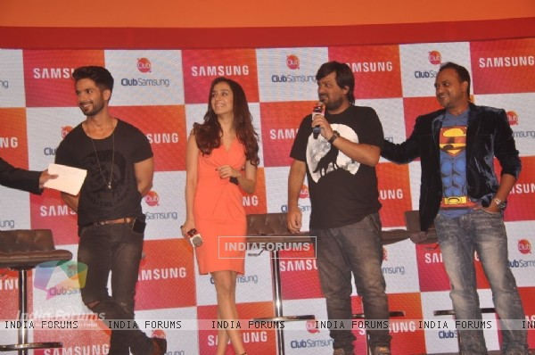 Promotion of Haider at the Samsung App Launch