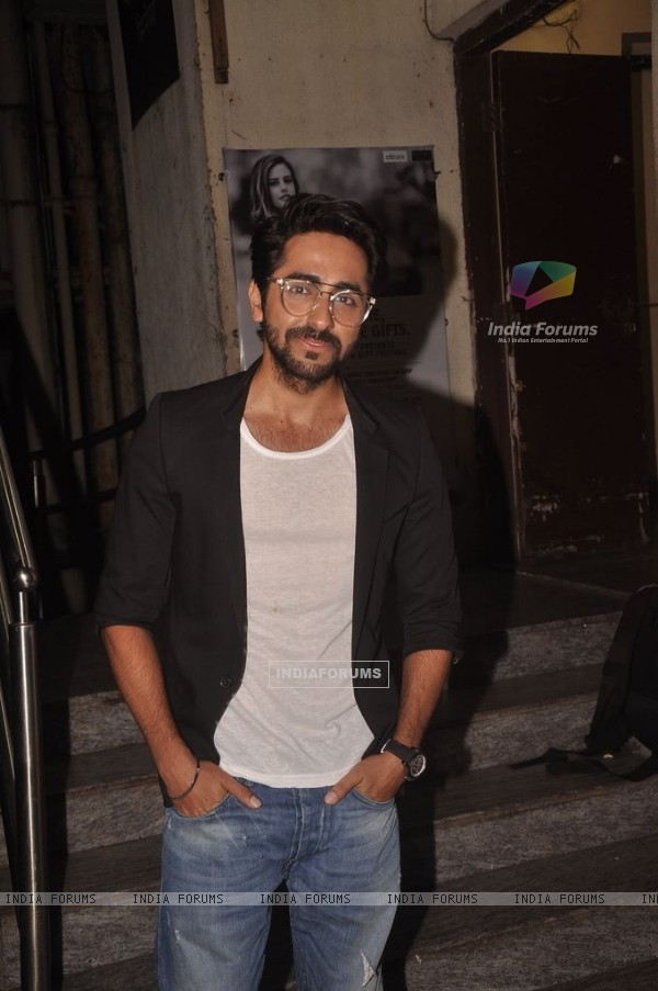 Ayushmann Khurrana snapped at PVR