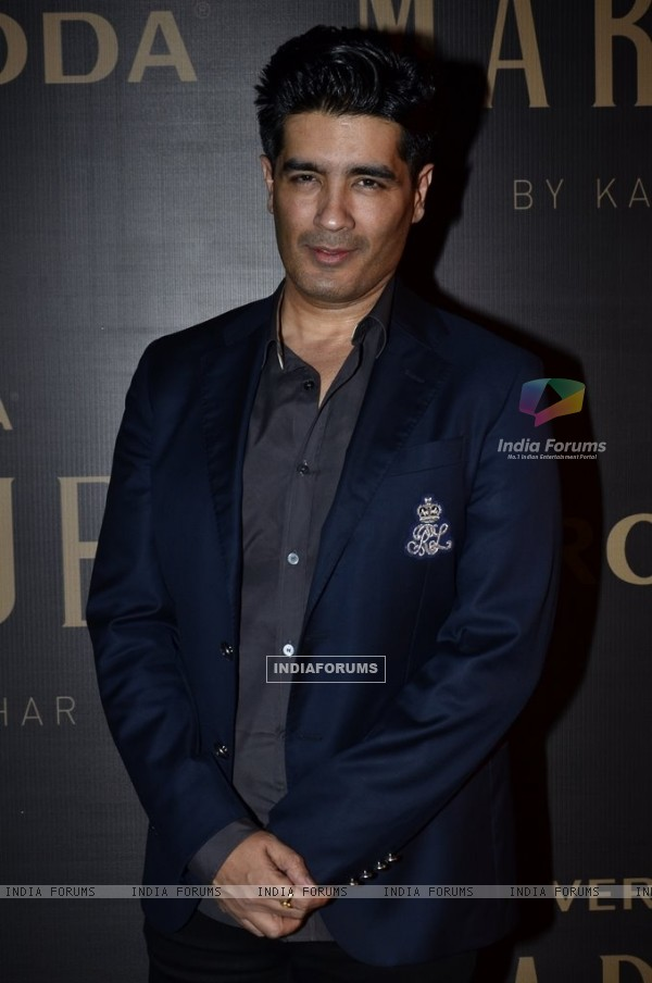 Manish Malhotra poses for the media at the Launch of Vero Moda MARQUEE Collection