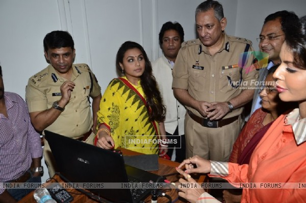 Rani Mukherjee at Make way for Ambulance Event