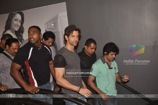 Hrithik Roshan snapped at the Promotion of Bang Bang