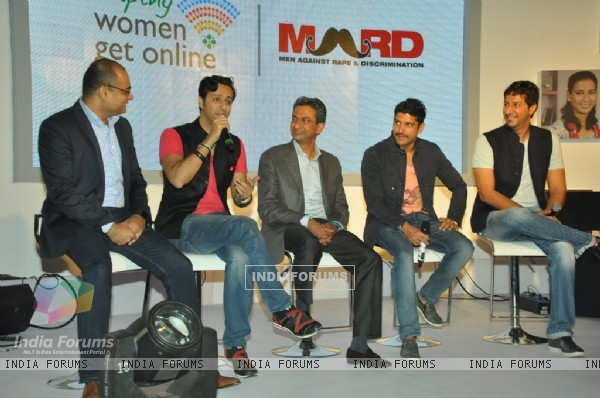 Salim Merchant addressing the audience at the Song Launch of MARD