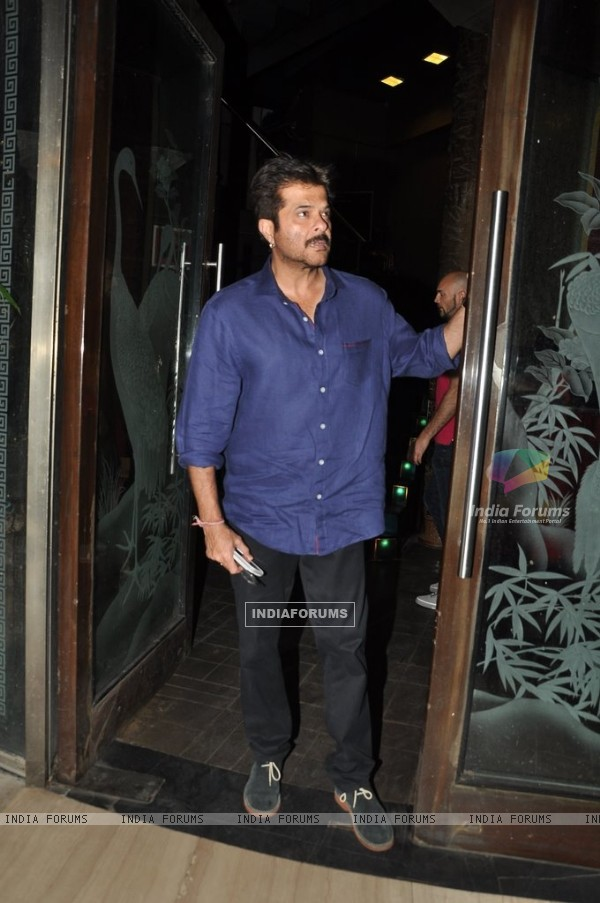 Anil Kapoor snapped at the Completion Bash of Dil Dhadakne Do