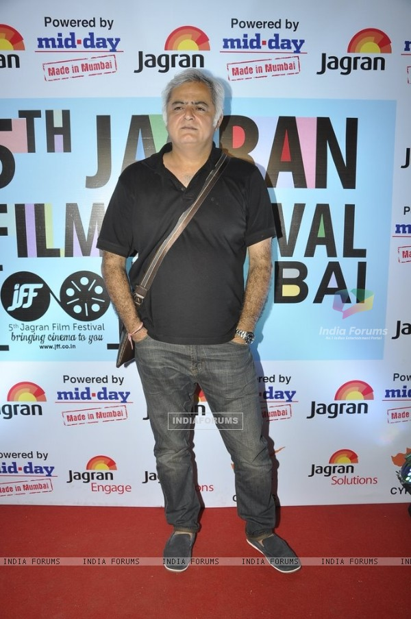 Hansal Mehta at the 5th Jagran Film Festival