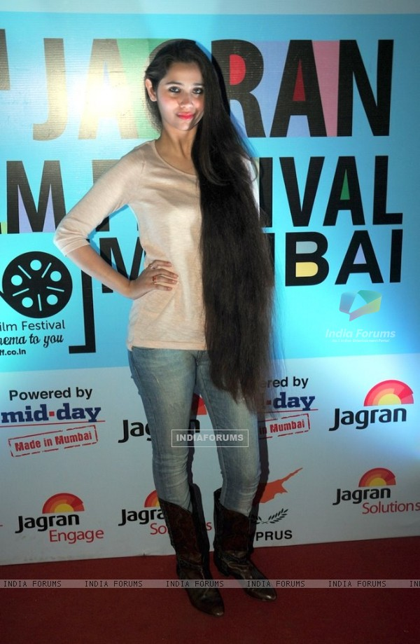 Sasha Agha Khan at the 5th Jagran Film Festival