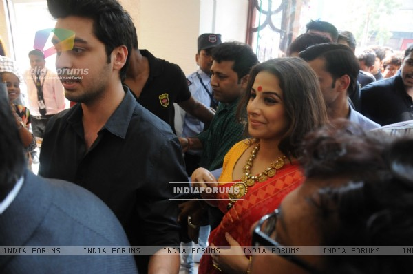 Vidya Balan was snapped at PC Jewelers Launch in Kolkatta