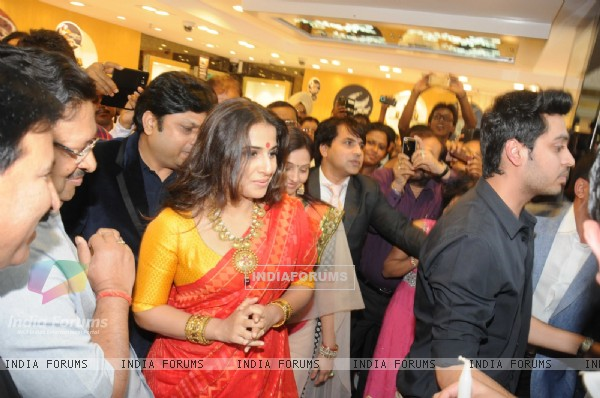 Vidya Balan at PC Jewelers Launch in Kolkatta