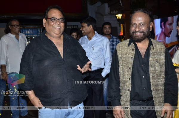 Satish Kaushik & Ketan Mehta at the Music Launch of Rang Rasiya