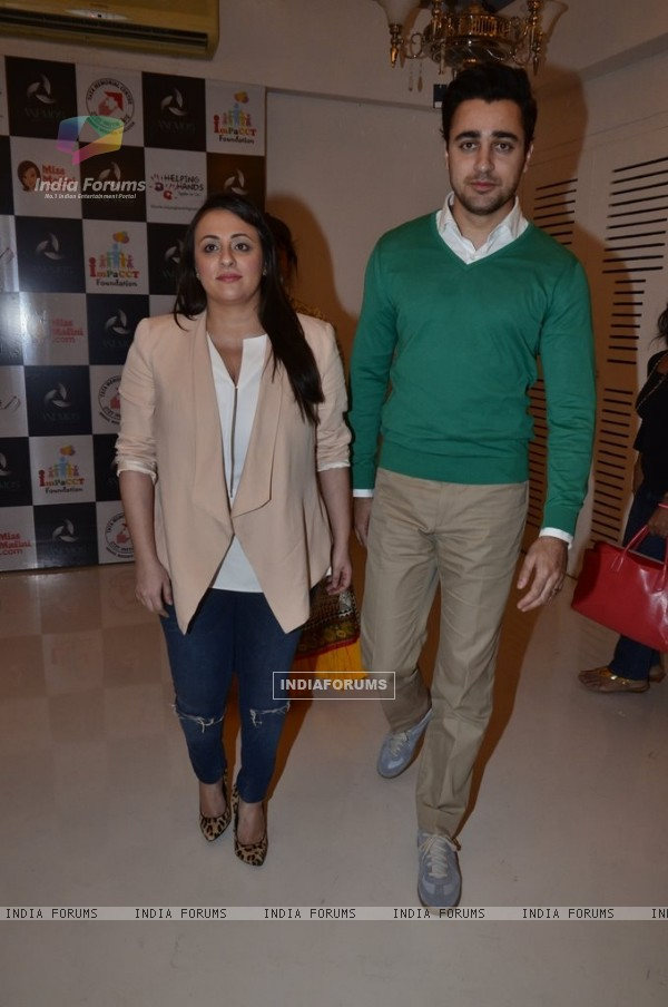 Imran Khan and Avantika Malik were at Impact NGO Event