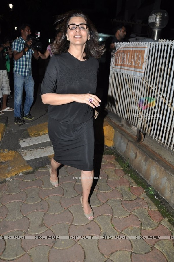 Neetu Singh snapped at Sanjay Kapoor's bash