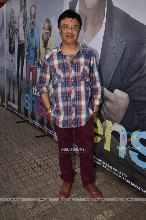 Anu Malik at the Trailer Launch of The Shaukeens