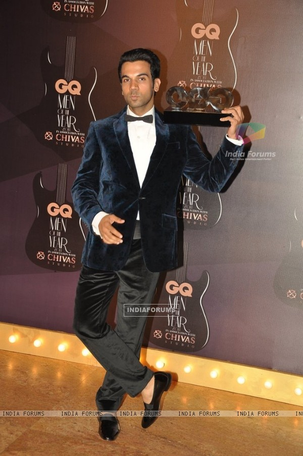 Rajkummar Rao at the GQ Men of the Year Awards