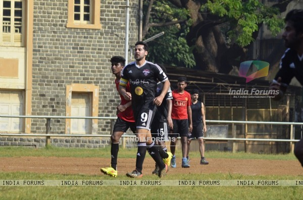 Dino Morea plays at the Celebrity Football Match