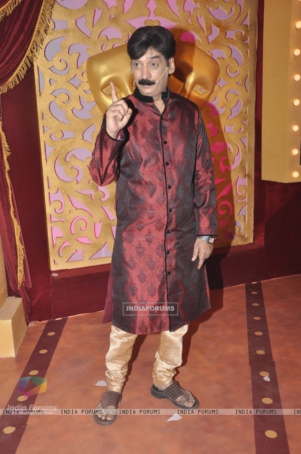 Shakeel Siddiqui poses for the media at the Launch of Comedy Classes