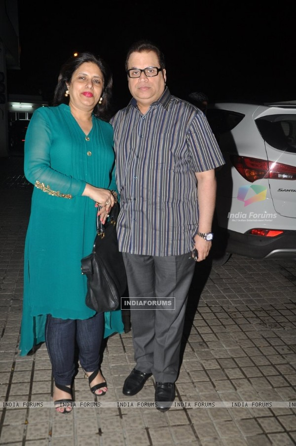Ramesh Taurani was seen at the Bang Bang special screening hosted by Hrithik Roshan