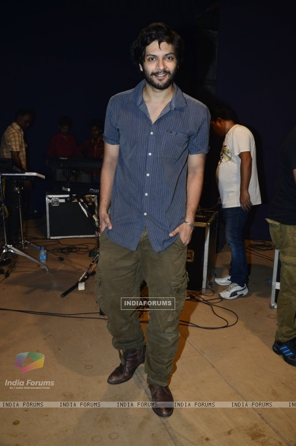 Ali Fazal at the Promotions of Sonali Cable