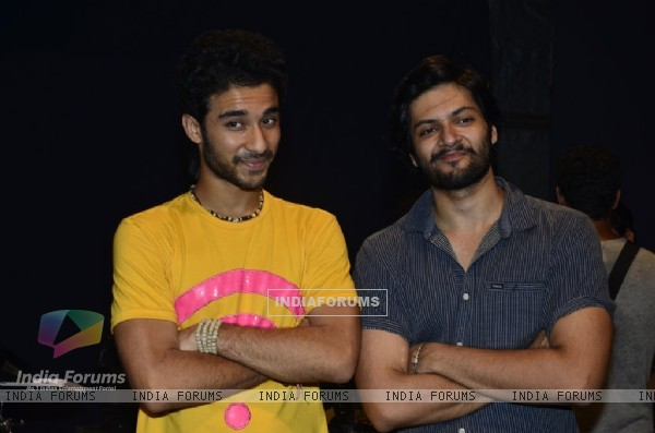 Ali Fazal and Raghav Juyal at the Promotions of Sonali Cable