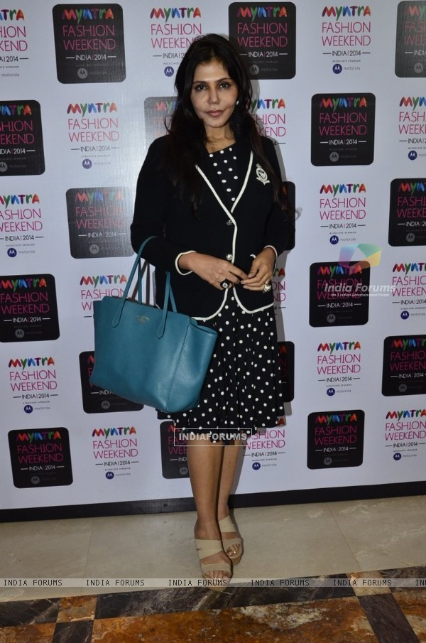 Nisha Jamwal at the Myntra Fashion Week Day 2