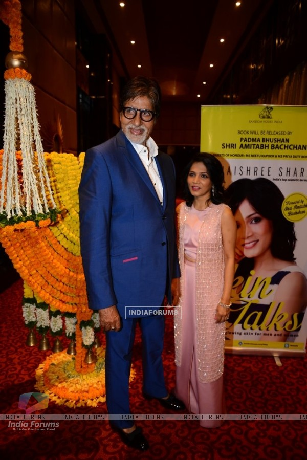 Amitabh Bachchan was at Jaishree Sharad's Book Launch