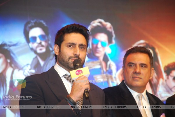 Abhishek Bachchan addresses the Palam Silks, Happy New Year Event
