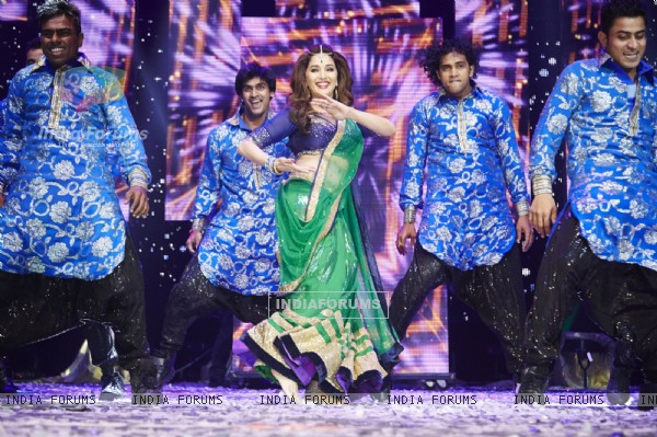 Madhuri Dixit Nene performs at Slam The Tour in London