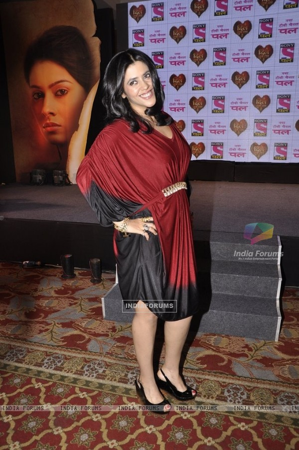 Ekta Kapoor at the Launch of Yeh Dil Sun Raha Hain