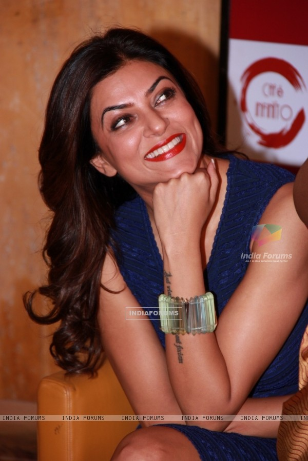 Sushmita Sen at Beauty at Your Fingertips Book Launch by Nirmala Shetty