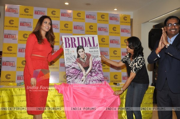 Esha Gupta Launches the Latest Issue of Bridal Mantra