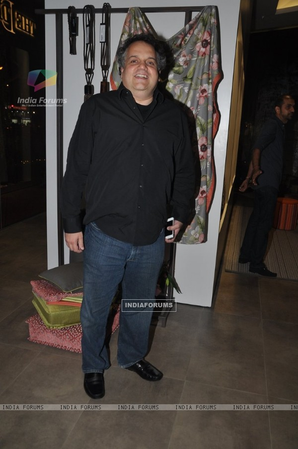 Sandeep Khosla poses for the media at the Launch of D'Decor Store in Bandra