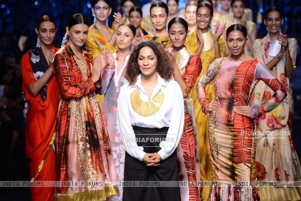 Masaba Gupta showcases her collection at the Wills Lifestyle India Fashion Week Day 3
