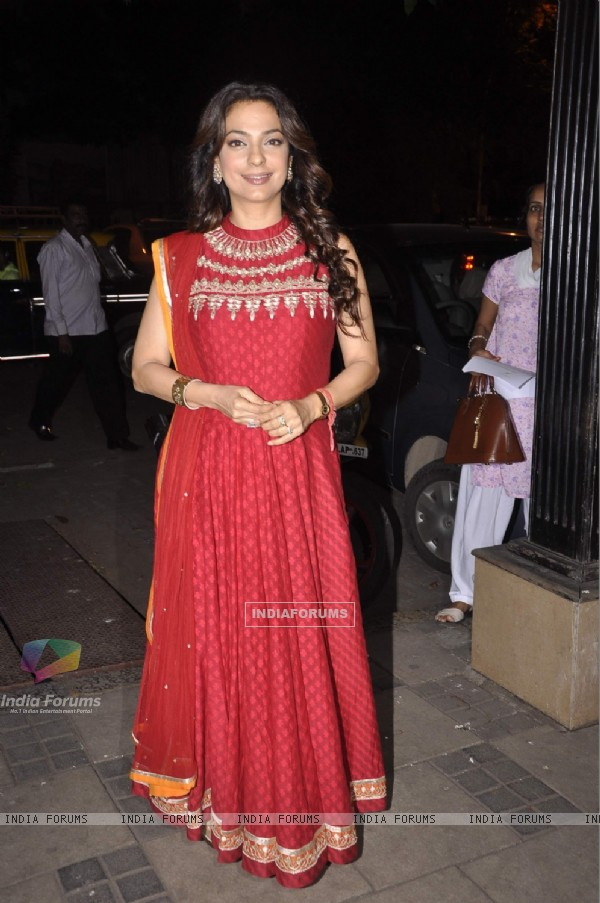 Juhi Chawla snapped at the Vocational Excellence Award Ceremony