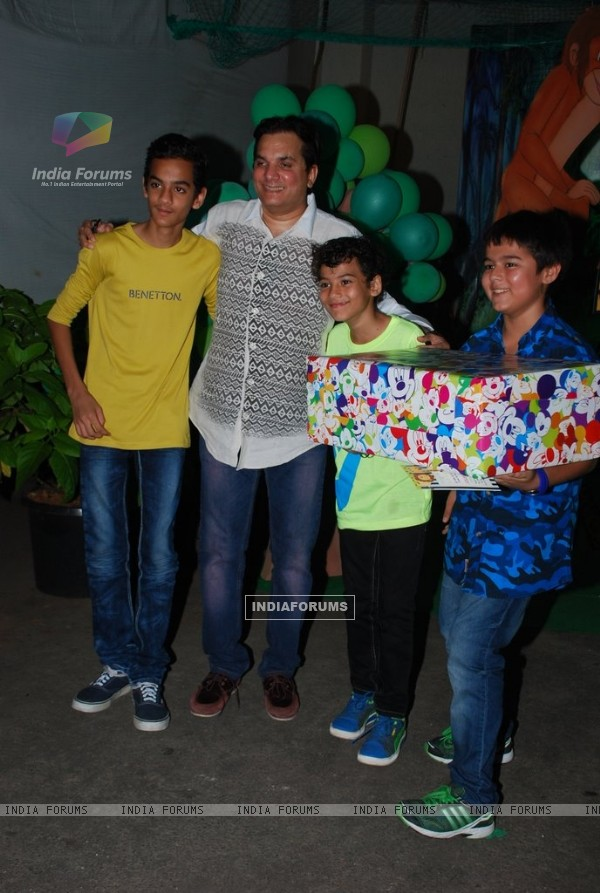 Lalit Sen at Ruhaan's Birthday Party