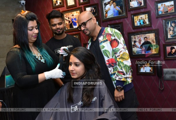 Grand Opening of Aalim Hakim's New Salon in Ahmedabad