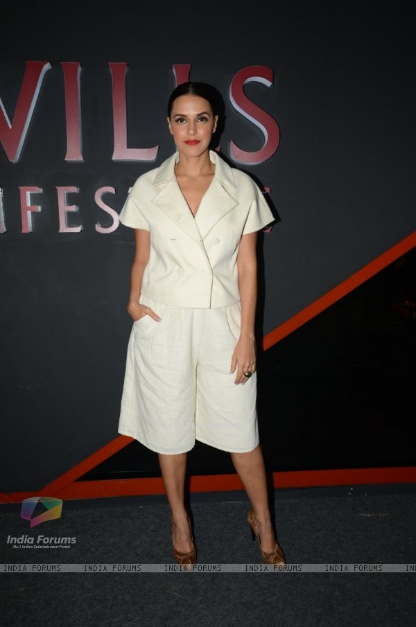 Neha Dhupia at Wills Lifestyle India Fashion Week Day 4