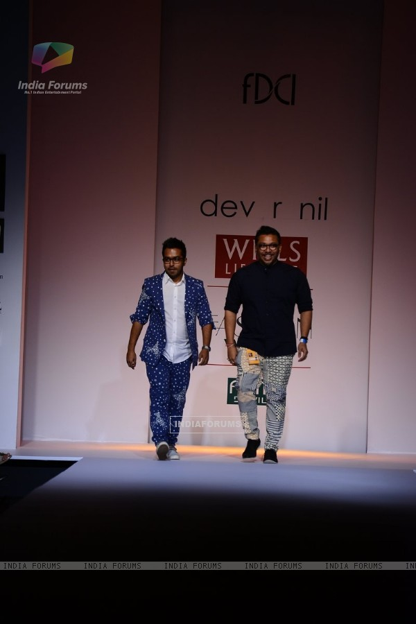 Dev R Nil showcase their collection on Wills Lifestyle India Fashion Week Day 4