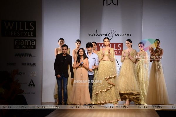 Rabani & Rakha showcase their colletion at Wills Lifestyle India Fashion Week Day 4