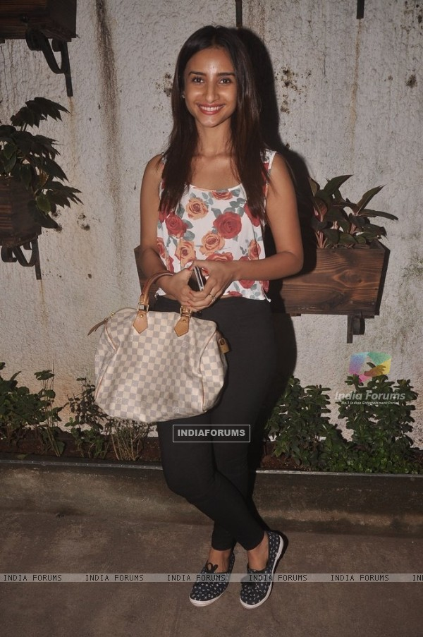 Patralekha poses for the media at the Special Screening of Sonali Cable