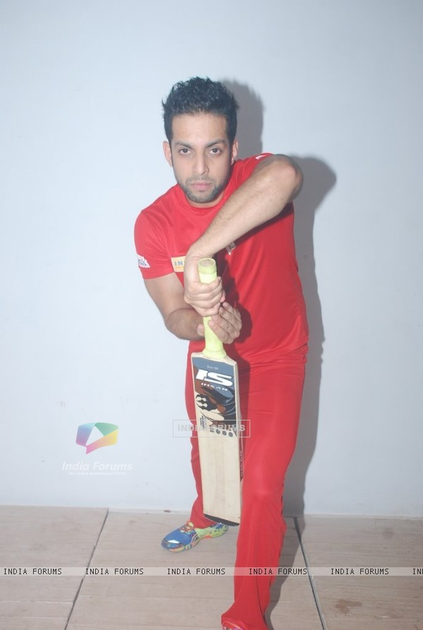 Salil Acharya poses at the Shoot for the New Season of Box Cricket League