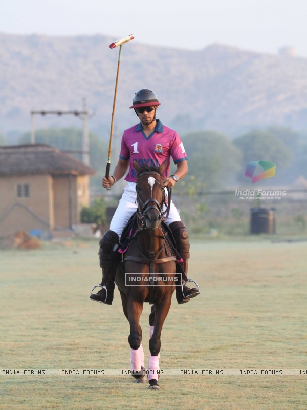Randeep Hooda plays Polo at the Launch