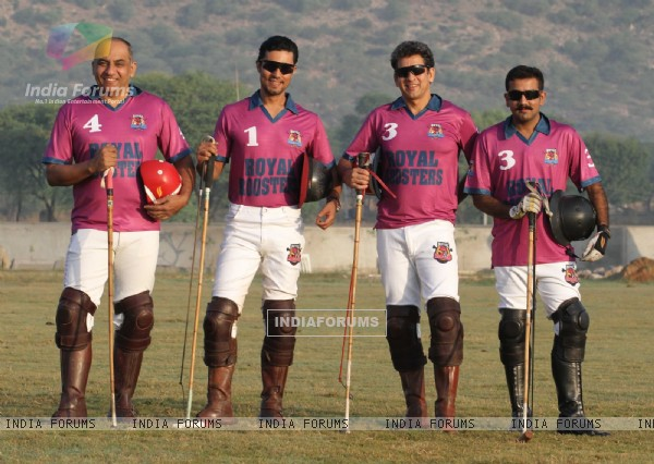 Randeep Hooda Launches his Polo Team in Jaipur