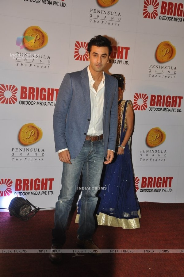 Ranbir Kapoor was at the Bright Outdoor Advertising Party