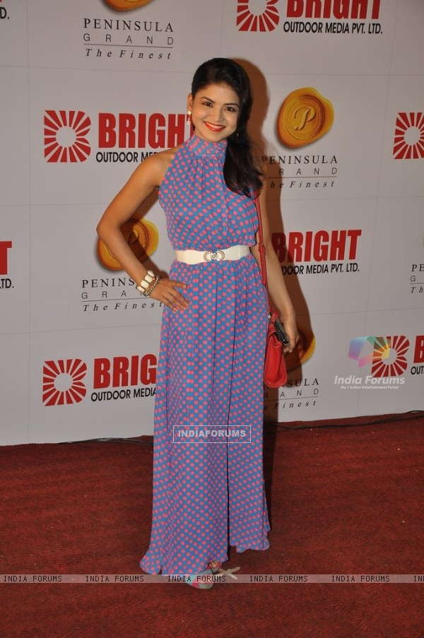 Rashmi Pitre at the Bright Outdoor Advertising Party