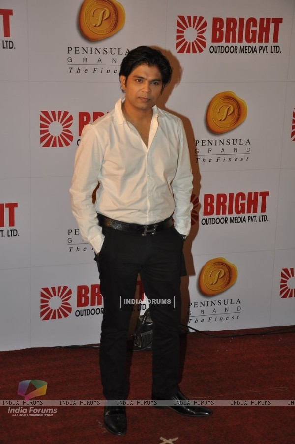 Ankit Tiwari was at the Bright Outdoor Advertising Party
