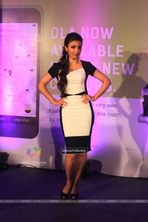 Soha Ali Khan Announces the Launch of Ola App