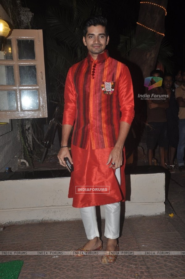 Vishal Singh was seen at Ekta Kapoor's Diwali Party